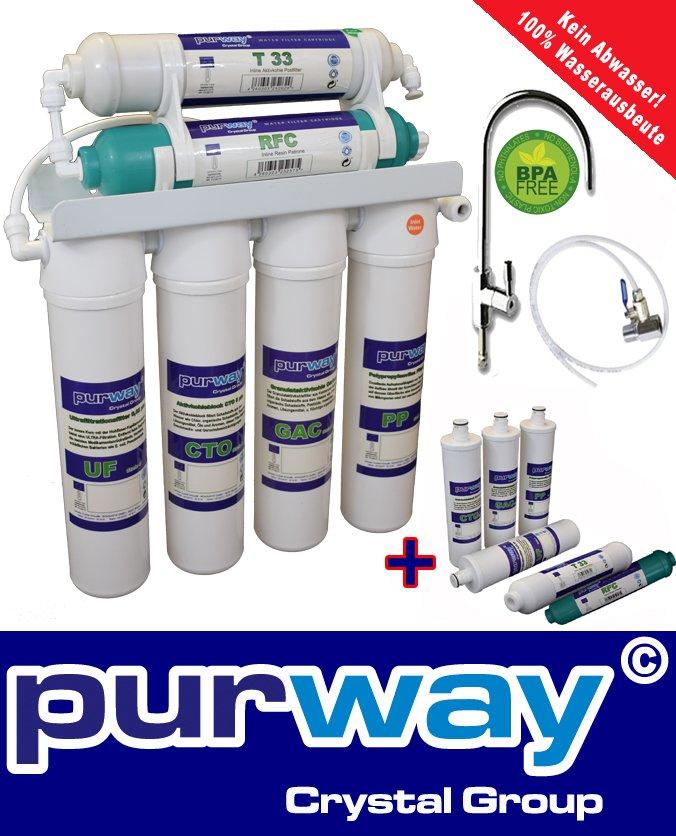 PUR Quick 6 Stufen UF Wasserfiltersystem + ERSATZFILTERSET