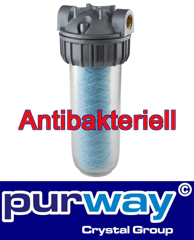 "SENIOR PLUS 3P AFO SX SANIC - 3/4"" Zoll Filtergehäuse Antibakteriell"